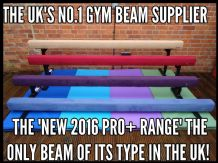 "10FT - 3.0MTR (24"" High) Gymnastic Balance Beam - ALL NEW COLOURS"